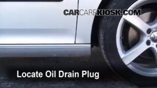 2008 Volkswagen Rabbit S 2.5L 5 Cyl. (2 Door) Oil Change Oil and Oil Filter