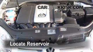 Interior Fuse Box Location: 2006-2009 Volkswagen Rabbit ...