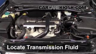 2008 Volvo S60 2.5T 2.5L 5 Cyl. Turbo Transmission Fluid Add Fluid