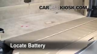 2008 Volvo XC90 3.2 3.2L 6 Cyl. Battery Replace