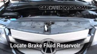 2007-2013 Acura MDX Brake Fluid Level Check