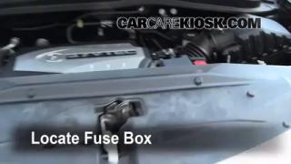 interior fuse box location 2007 2013 acura mdx 2009 acura mdx blown fuse check 2007 2013 acura mdx