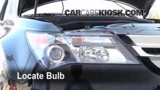 Headlight Change 2007-2013 Acura MDX