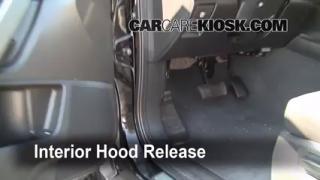 Open Hood How To 2007-2013 Acura MDX