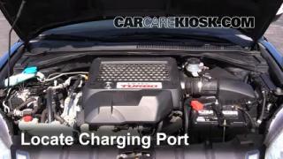2009 Acura RDX 2.3L 4 Cyl. Turbo Aire Acondicionado Agregar Freón