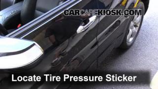 2009 Acura RDX 2.3L 4 Cyl. Turbo Neumáticos y ruedas Controlar presión de neumáticos