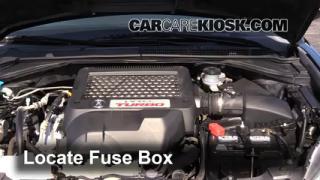 2009 Acura RDX 2.3L 4 Cyl. Turbo Fusible (motor) Cambio