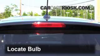2009 Acura RDX 2.3L 4 Cyl. Turbo Luces Luz de freno central (reemplazar foco)