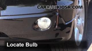 2009 Acura RDX 2.3L 4 Cyl. Turbo Luces Luz de niebla (reemplazar foco)