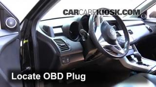 2009 Acura RDX 2.3L 4 Cyl. Turbo Compruebe la luz del motor Diagnosticar