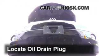 2009 Acura RDX 2.3L 4 Cyl. Turbo Aceite Cambiar aceite y filtro de aceite