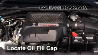 2009 Acura RDX 2.3L 4 Cyl. Turbo Aceite Agregar aceite