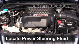 2009 Acura RDX 2.3L 4 Cyl. Turbo Pérdidas de líquido Líquido de dirección asistida (arreglar pérdidas)