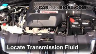 2009 Acura RDX 2.3L 4 Cyl. Turbo Líquido de transmisión Agregar líquido