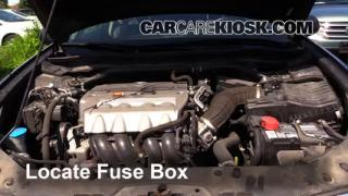 interior fuse box location 2009 2014 acura tsx 2009 acura tsx replace a fuse 2009 2014 acura tsx