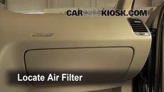 2009 Audi Q7 Premium 3.6L V6 Air Filter (Cabin) Replace