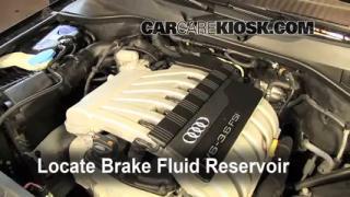 2007-2015 Audi Q7 Brake Fluid Level Check