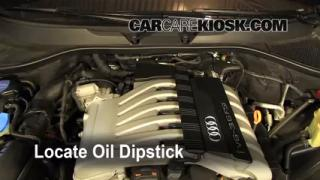 2009 Audi Q7 Premium 3.6L V6 Oil Check Oil Level