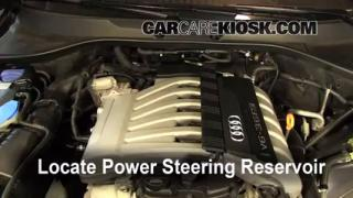Follow These Steps to Add Power Steering Fluid to a Audi Q7 (2007-2015)