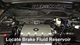 2006-2011 Cadillac DTS Brake Fluid Level Check