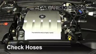 2009 Cadillac DTS Platinum 4.6L V8 Hoses Check Hoses