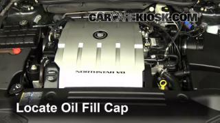 How to Add Oil Cadillac DTS (2006-2011)