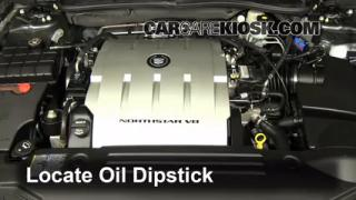 Check Oil Level 2006-2011 Cadillac DTS