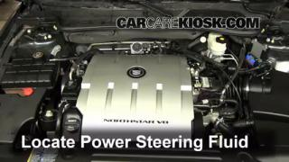 Cadillac Dts Platinum L V Fpower Steering Part on Cadillac Dts Transmission Fluid