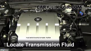 2009 Cadillac DTS Platinum 4.6L V8 Transmission Fluid Add Fluid