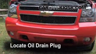 Oil & Filter Change Chevrolet Avalanche (2007-2013)