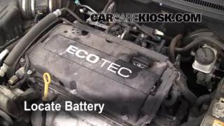 Battery Replacement: 2004-2011 Chevrolet Aveo