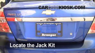2004-2011 Chevrolet Aveo Jack Up How To