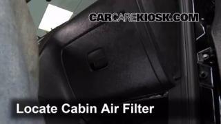 2006-2011 Chevrolet HHR Cabin Air Filter Check