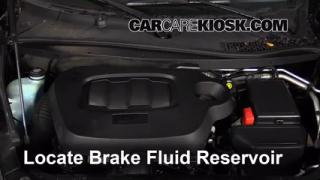 2009 Chevrolet HHR LS 2.2L 4 Cyl. FlexFuel Brake Fluid Add Fluid