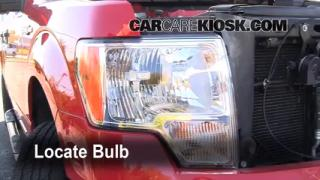2009 Ford F-150 XLT 5.4L V8 FlexFuel Crew Cab Pickup (4 Door) Lights Parking Light (replace bulb)