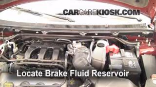 replace a fuse 2009 2016 ford flex 2009 ford flex sel 3 5l v6 2009 2016 ford flex brake fluid level check