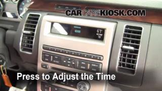 interior fuse box location 2009 2016 ford flex 2009 ford flex how to set the clock on a ford flex 2009 2016
