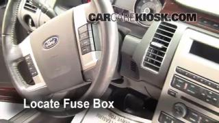 2009 Ford Flex SEL 3.5L V6%2FFuse Interior Part 1 interior fuse box location 2009 2016 ford flex 2009 ford flex 2010 ford flex fuse box at nearapp.co