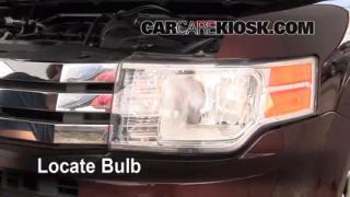 interior fuse box location 2009 2016 ford flex 2009 ford flex parking light change 2009 2016 ford flex