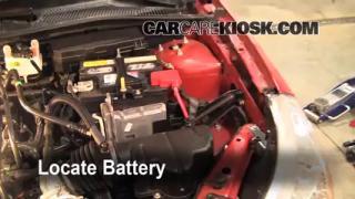 2009 Ford Focus SE 2.0L 4 Cyl. Sedan (4 Door) Battery Clean Battery & Terminals