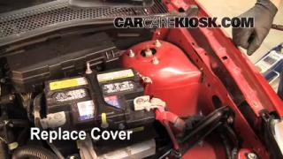 How to Clean Battery Corrosion: 2008-2011 Ford Focus