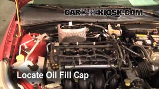 How to Add Oil Ford Focus (2008-2011)