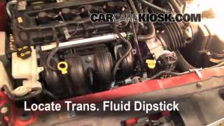 2009 Ford Focus SE 2.0L 4 Cyl. Sedan (4 Door) Fluid Leaks Transmission Fluid (fix leaks)