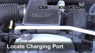 2009 GMC Envoy SLE 4.2L 6 Cyl. Air Conditioner Recharge Freon
