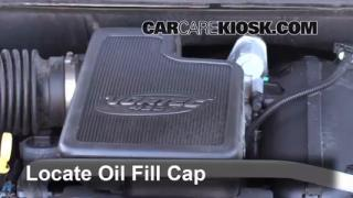 2009 GMC Envoy SLE 4.2L 6 Cyl. Oil Add Oil