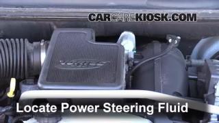 2009 GMC Envoy SLE 4.2L 6 Cyl. Power Steering Fluid Check Fluid Level