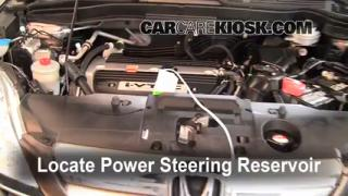Follow These Steps to Add Power Steering Fluid to a Honda CR-V (2007-2011)