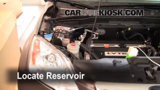 Add Windshield Washer Fluid Honda CR-V (2007-2011)