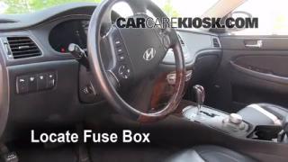 2009-2014 Hyundai Genesis Interior Fuse Check