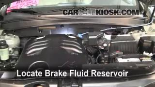 2009 Hyundai Santa Fe Limited 3.3L V6 Brake Fluid Check Fluid Level